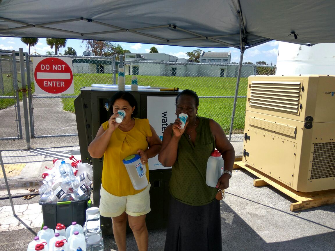 Water-Gen is working with the American Red Cross and FEMA in the United States