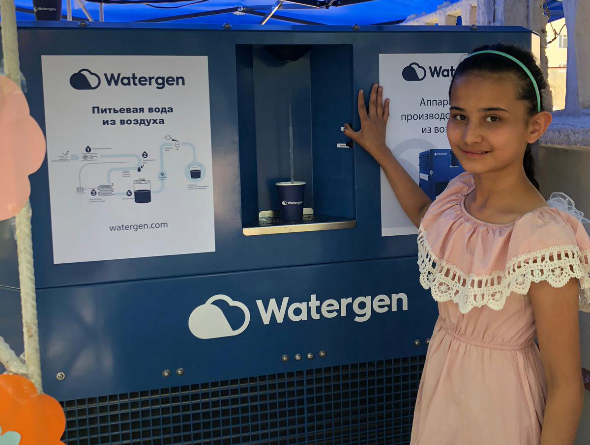 Watergen Provides 120 Orphans in Uzbekistan With Fresh Water From Air