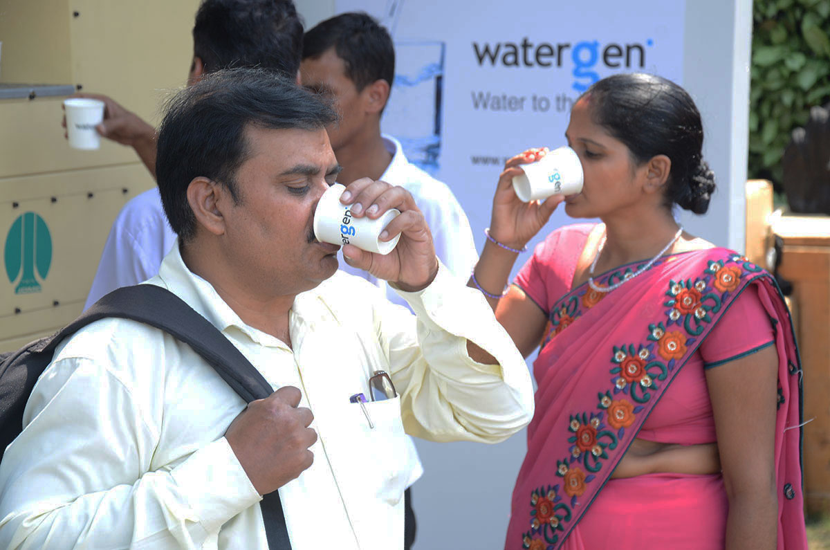 Watergen devices incorporated into Cambodian's National Health Structure