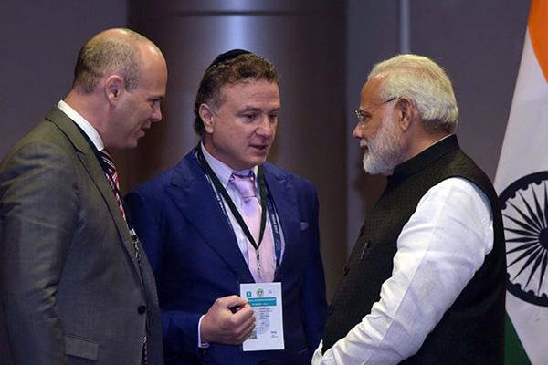 India PM Narendra Modi at Global Entrepreneurship Summit (GES)