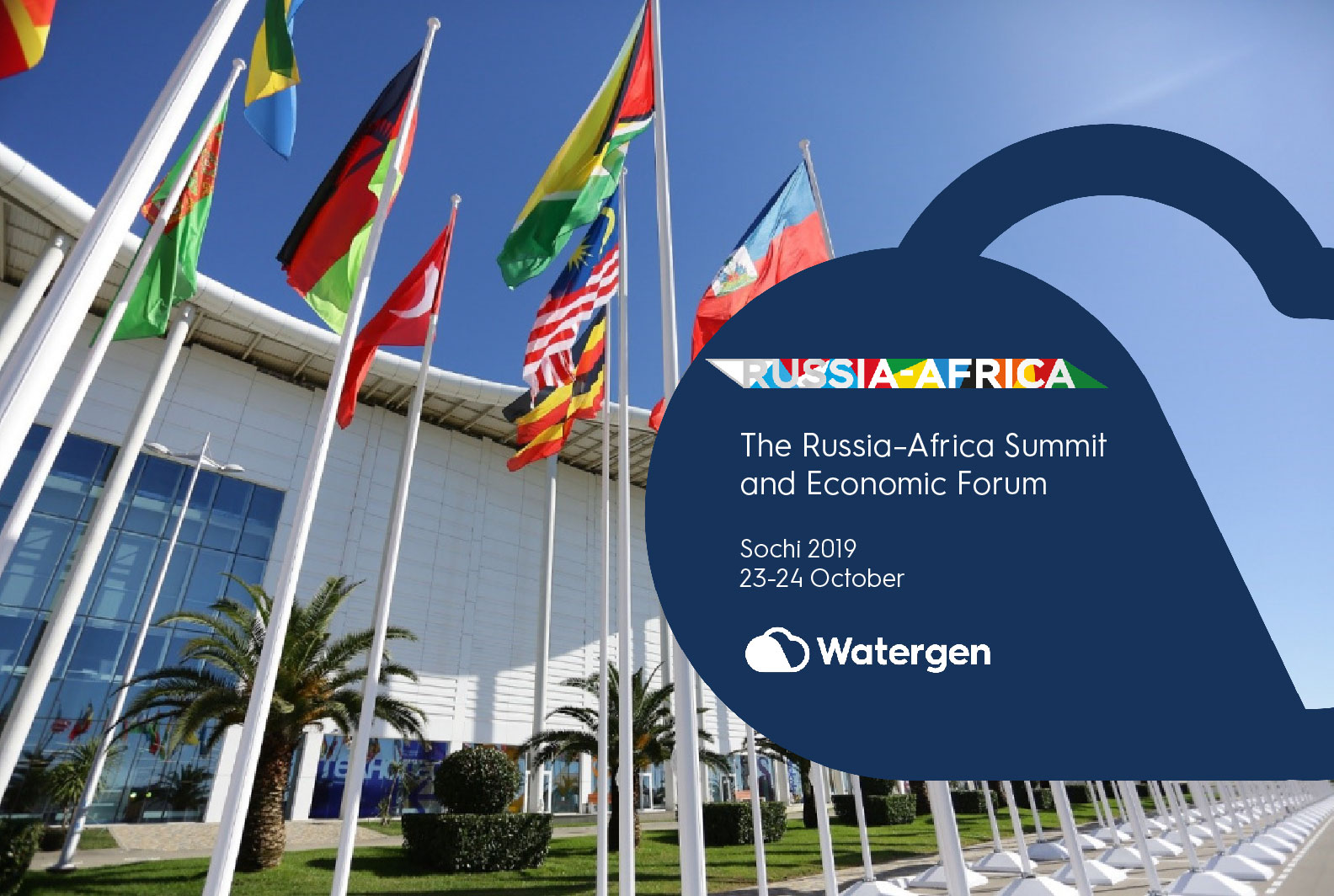 Watergen at the Russia-Africa Summit and Economic Forum