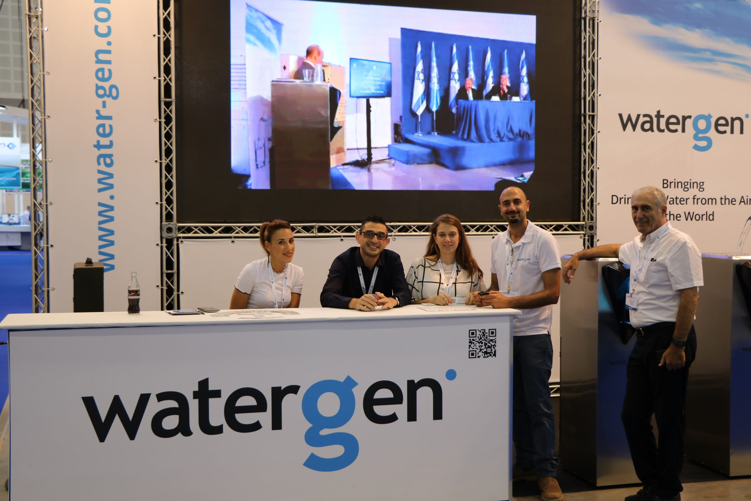 Watergen at Watec-Israel 2019