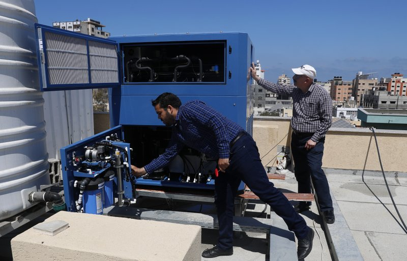 A Georgian-Israeli billionaire believes he has found a solution to the Gaza's water crisis