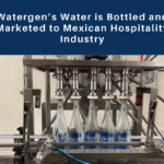 Watergen's water is bottled and marketed to the Mexican hospitality industry