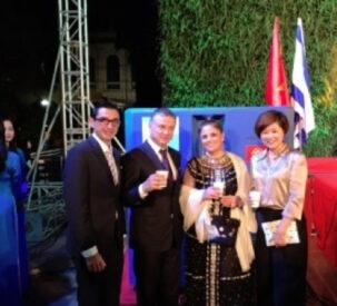 Celebrating 25 years of diplomatic relations between Israel and Vietnam