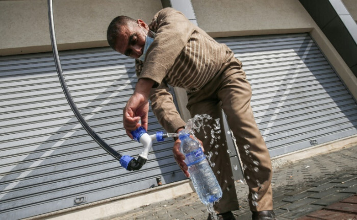 """TV channel France24 reports on Watergen's """"Help our neighbours"""" policy"""