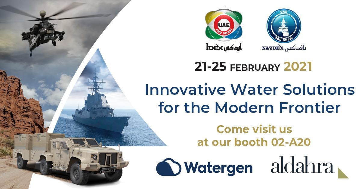 Watergen Participates in IDEX 2021