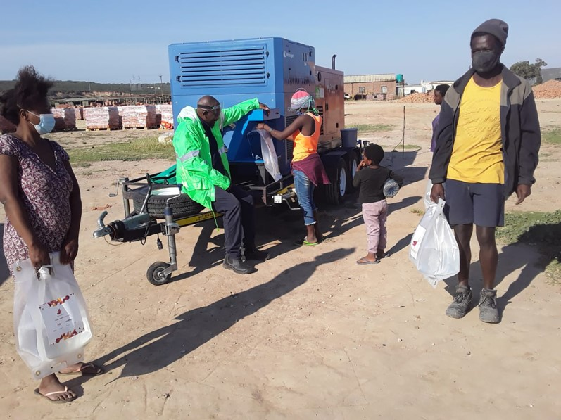 Watergen provides drinking water from air to communities in South Africa