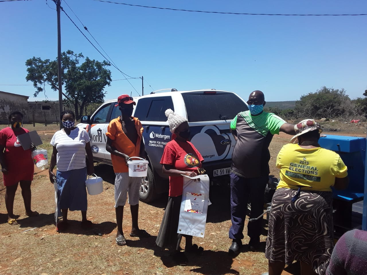 Watergen continues to Bring Clean Drinking Water to Drought-Stricken South African Community
