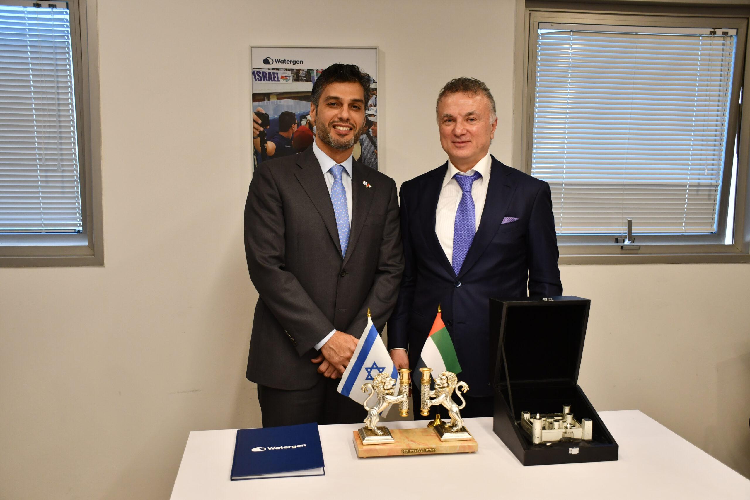 The Ambassador of UAE hosted at Watergen's headquarters.